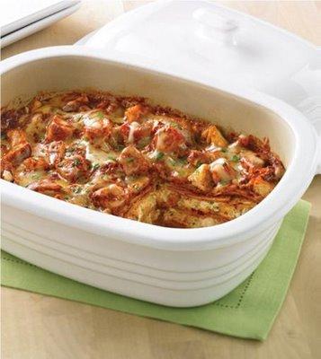 mexican chicken lasagne